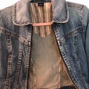 Vintage Zip Up Denim Gap Jacket